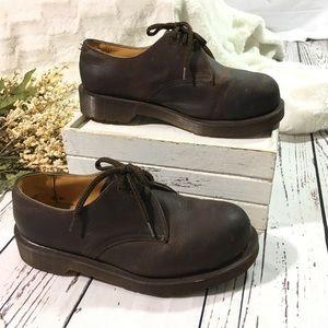 Dr Martens  vintage 3 eyelet 1925 steel toe shoe